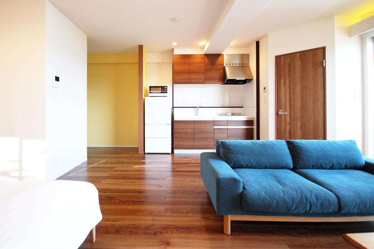 プチリゾート古宇利島の客室